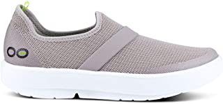 Women's OOmg Slip-On Recovery Shoe - Color: White/White - Size: