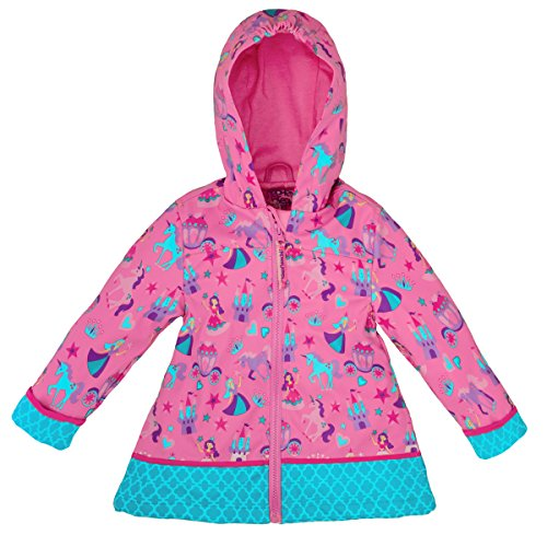 Stephen Joseph All Over Print Rain Coat, Princess, 7/8