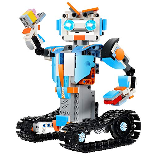 OASO STEM Robot Building Kit for Kids, Intellectually stimulating Science DIY Building Toy Set with Remote & APP Control for Boys and Girls 8 10 12(351 Pieces)