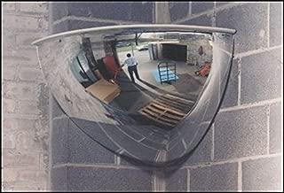 See All PV26-90 Panaramic Full Dome Plexiglas Security Mirror, 90 Degree Viewing Angle, 26