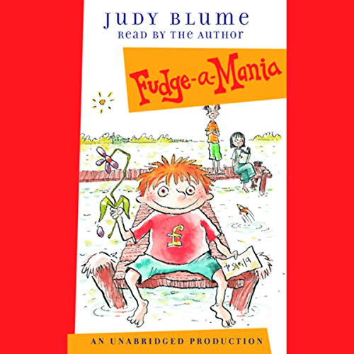 Fudge-a-Mania audiobook cover art