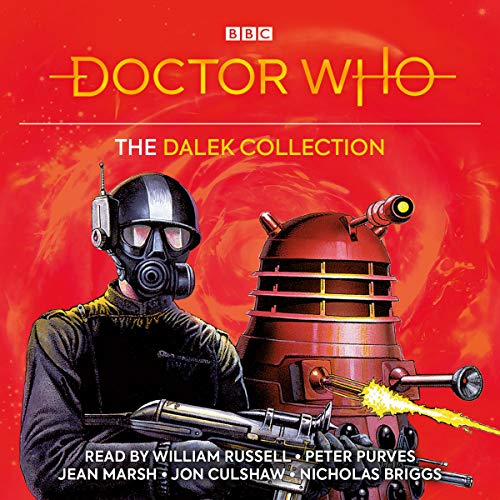 Doctor Who: The Dalek Collection audiobook cover art