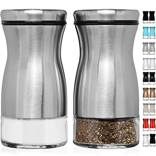 CHEFVANTAGE Salt and Pepper Shakers Set