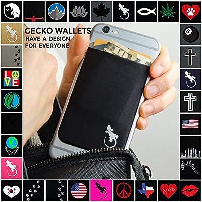 Gay Pride Mobile Phone Wallet LGBTQ Flag Credit Card Phone Holder LGBT Phone Wallet Stick on