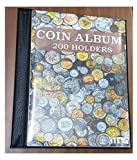 IHC ~ 200 Coin Holder Album with 200 Coin Holders with 5 Different