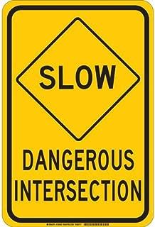 Best dangerous intersection sign Reviews