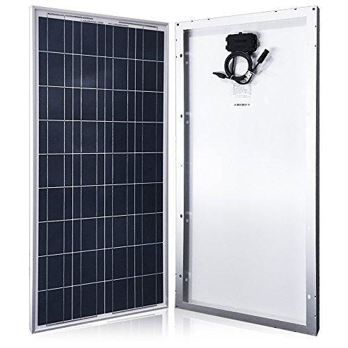 ACOPOWER 100 Watts 100w Poly Solar Panel with MC4 Connectors for 12...