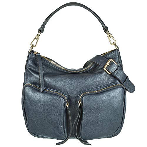 Abro Beuteltasche OLIVIA small in navy ab-29153-45-20