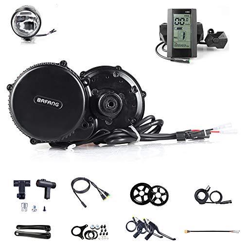 Bafang, BBS01B, motore centrale per bicicletta, sistema mid-drive, kit di conversione per bici elettrica, 250W, motore elettrico per bicicletta, C965, 44T