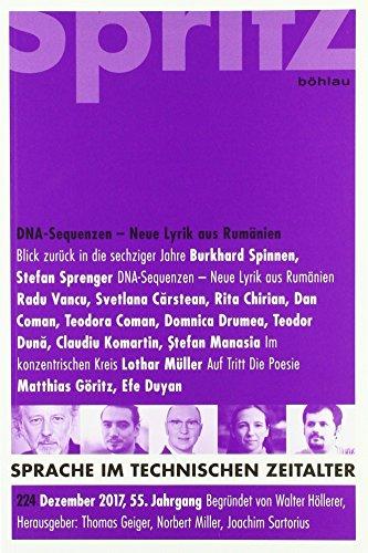 DNA-Sequenzen – Neue Lyrik aus Rumänien: Sprache im technischen Zeitalter 224