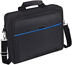 PS4 Travel Bag with Protective PS4 Carrying Case for Computer/ Notebook/ Laptop, 14 Inch Laptop Sleeve Portable Computer Bag