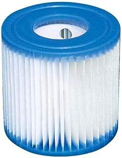 Intex Swimming Pool Easy Set Filter Cartridge Replacement - Type H (4 Pack)