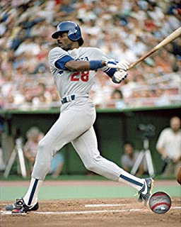 Pedro Guerrero Los Angeles Dodgers MLB Action Photo (Size: 8