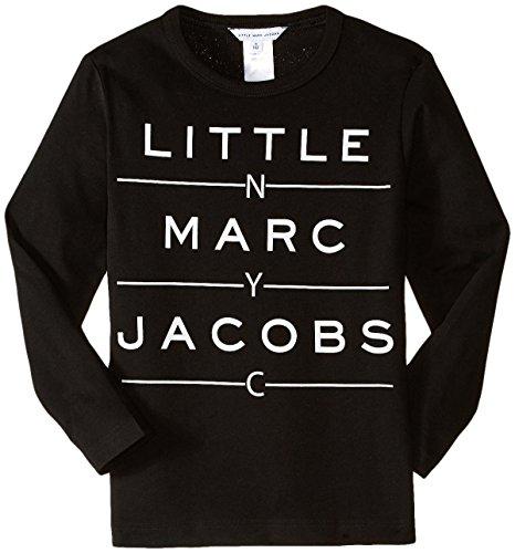 Little Marc Jacobs - T-Shirt Manches Longues Noir - 12 Ans, Noir