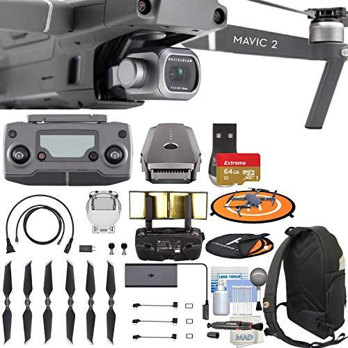 DJI Mavic 2 Pro with Hasselblad Camera Quadcopter Drone Bundle