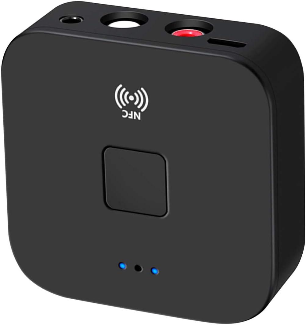 Bluetooth Audio latest Receiver Wireless 3.5mm Translated 2RC BT5.0