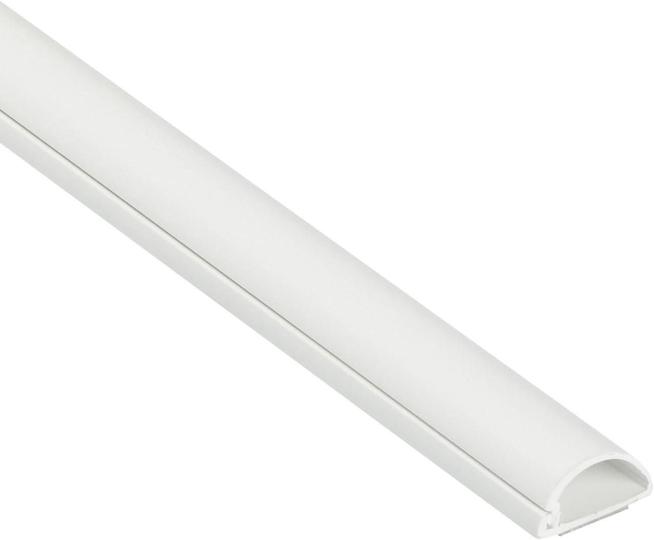 Cable trunking conduit Line Cover Cache Blanc en PVC 4 x 1 m Longueurs 20 mm x 10 mm