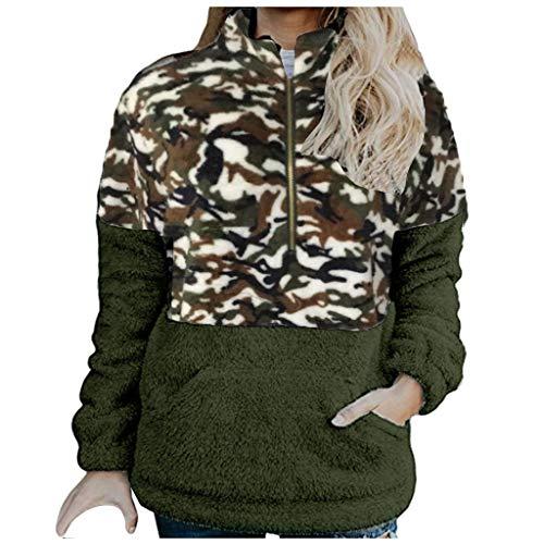 Dasongff Luipaard Cardigan Dames lange teddy fleece jas, pluche mantel oversize wintermantel revers faux voor losse lange mouwen outwear winterjas mode coat casual jas gewatteerde jas