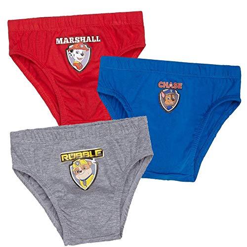 PAW PATROL pak van 3 slip kleurrijke onderbroeken | ondergoed | maat 98-128
