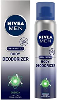 NIVEA MEN Deodorant, Energy Deodorizer, 120ml