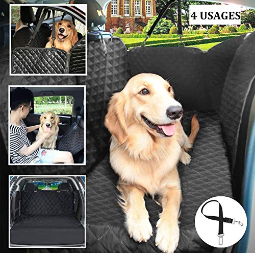 Pecute Dog Seat Cover, Dog Car Seat Protector, Thick and Durable for SUV, Truck, Transport and Travel