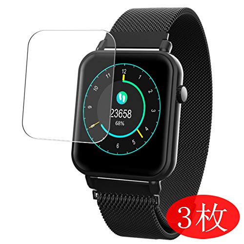 [3 Pack] Synvy Screen Protector for Smartwatch Smart Watch Y6 pro TPU Flexible HD Film Protective Protectors [Not Tempered Glass]