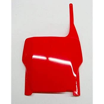 UFO HO02629001 Replacement Plastic for Honda FRT #Plate CR90-94 Black