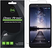 [6-Pack] Dmax Armor ZTE ZMAX Pro Screen Protector, Anti-Bubble High Definition Clear Shield - Lifetime Replacements Warranty- Retail Packaging [並行輸入品]