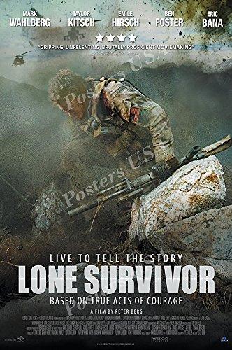 Posters USA - Lone Survivor Movie Poster GLOSSY FINISH - MOV669 (24' x 36' (61cm x 91.5cm))