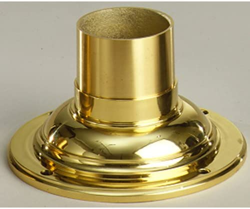 high quality Kichler 9530PB wholesale Accessory Pedestal Adaptor, high quality Polished Brass outlet online sale