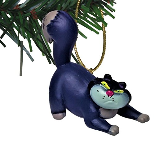 Characteristix Disney's Cinderella Lucifer Holiday Ornament