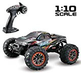 Momola Grande Voiture télécommandée pour Les Enfants,4WD 1:10 2.4Ghz RC Buggy Car,High Speed RC Off Road Vehicle Best Birthday Christmas Party Cadeau