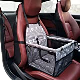 Pet Booster Seat Dog Cat Cage Comfort Travel Waterproof Foldable Safety Car Front
