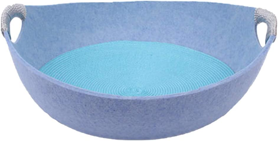 TEHAUX 1 Pc Cat Felted Bed Bowl Shape Dog S Round Financial New Shipping Free Shipping sales sale