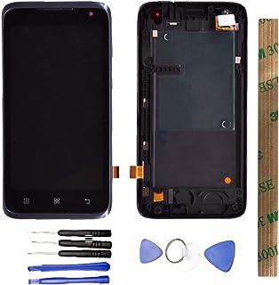 JayTong شاشة LCD واستبدال محول رقمي لشاشة تعمل باللمس مع أدوات مجانية لـلـ Le novo A526 أسود مع الإطار