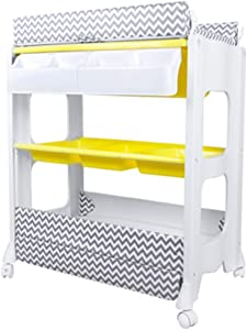 Folding Baby Changing Table for Small Spaces  Portable Nursery Infant Diaper Massage Station Dresser for Household Travel  Multiple Colour  0-2 Years Old