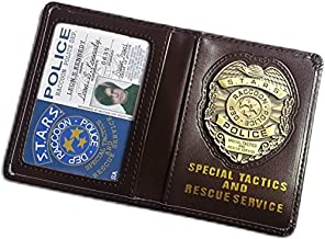 Resident Evil Biohazard S.T.A.R.S RPD Wallet Leon S. Kennedy ID Holder   Chris Jill Wesker Cosplay