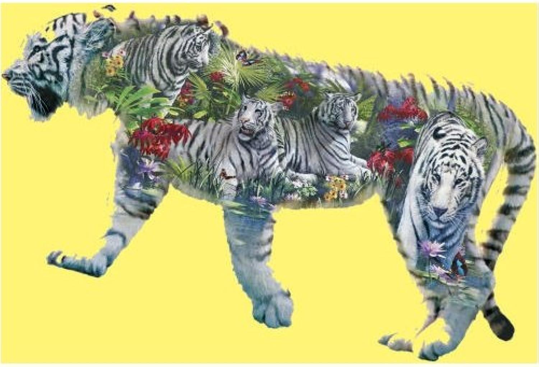 SunsOut Puzzle 1000 Teile - Weisser Tiger