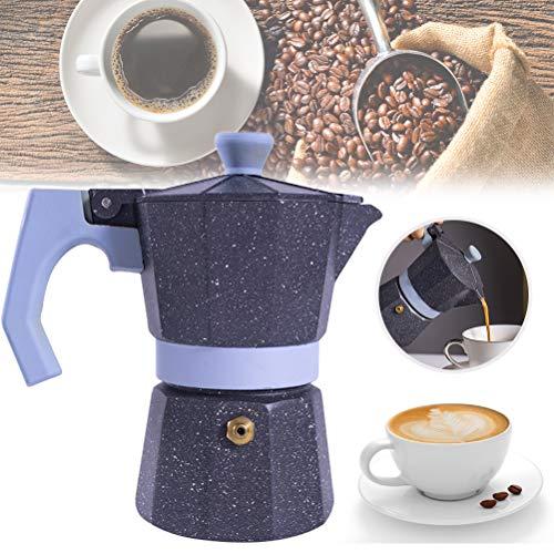 Ububiko Máquina de café expreso Máquina de café expreso, Aluminio Máquina de café expreso de una Sola válvula Máquina de café de Olla Moka Fuerte Italiano Duradero