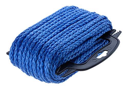 Attwood Hollow Braided Polypropylene General Purpose Rope (1/4-Inchx100-Feet)