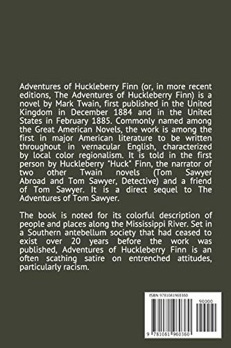 The Adventures of Huckleberry Finn: Annotated