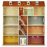 MiniMundus Bauelemente 'Großes Stadthaus' (Türen, Fenster usw.) für das Puppenhaus