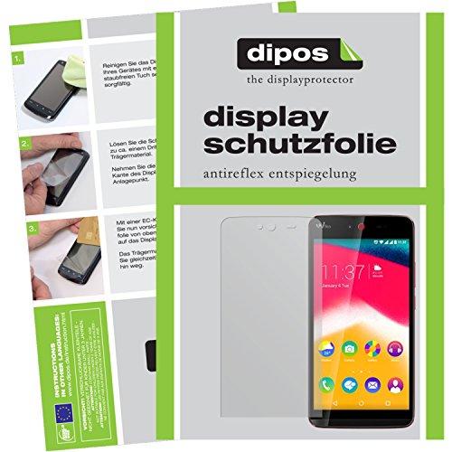 dipos I 6x Schutzfolie matt passend für Wiko Rainbow Jam Folie Bildschirmschutzfolie