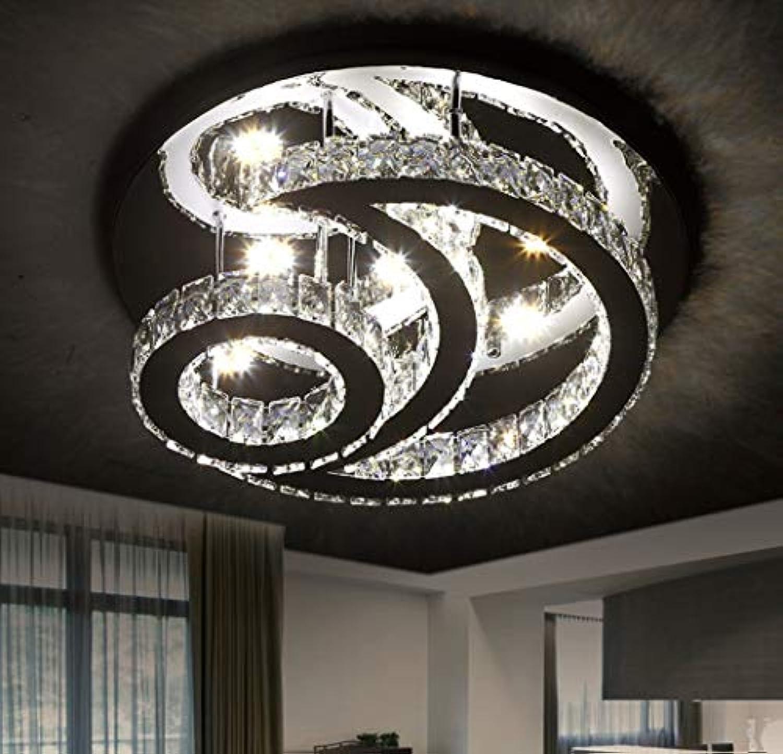 Kristall lampe LED Deckenleuchte Dimmbar mit Fernbedienung ...