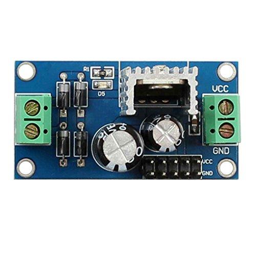 PRENKIN L7806 LM7806 mit DREI Anschlüssen Spannungsreglermodul 6V Geregelte Stromversorgungsmodul