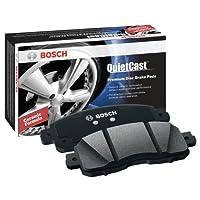 Bosch BP1130 QuietCast プレミアム セミメタリック ディスクブレーキパッドセット Audi用 2012-2017 R8 2013-2015 RS5 ポルシェ: 2005-2009 カイエン フロント
