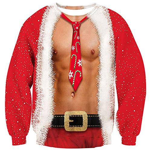 Loveternal Womens Mens Ugly Christmas Jumper...