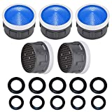 Faucet Aerator, 2.2 GPM Flow RetrictorKitchen Bathroom Replacement 5 Pack