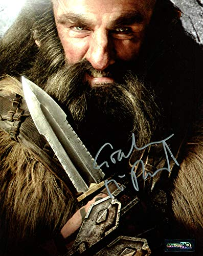 Graham McTavish Autographed Hobbit Photo, as Dwalin. Includes Fanexpo HQ Certificate of Authenticity. Entertainment Autograph Original. Lord of the Rings