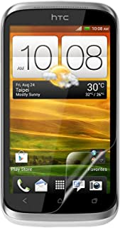 Celicious Vivid Invisible Glossy HD Screen Protector Film Compatible with HTC Desire X [Pack of 2]